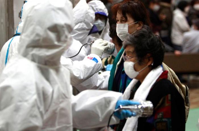 Радиоактивная тревога в Японии (40 фото)