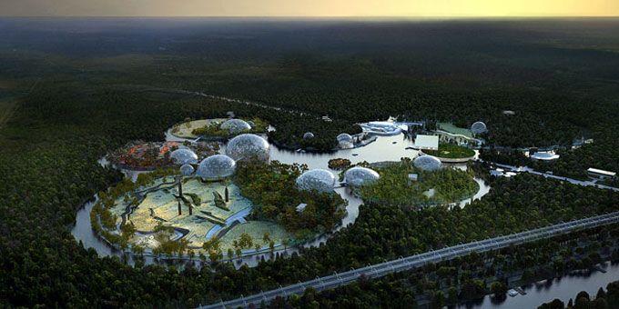 Проект зоопарка в Санкт-Петербурге (6 фото)