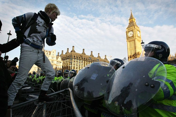 Протесты Лондонских студентов
