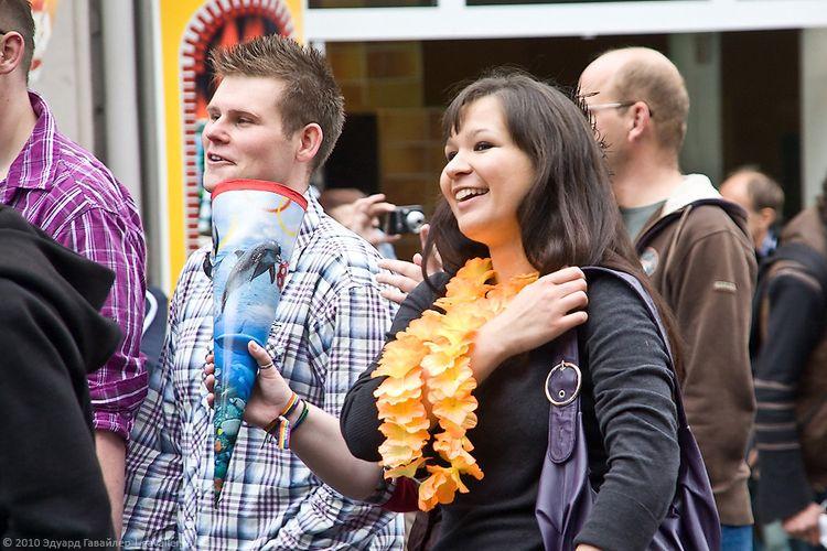 Прошедший гей-парад в Германии
