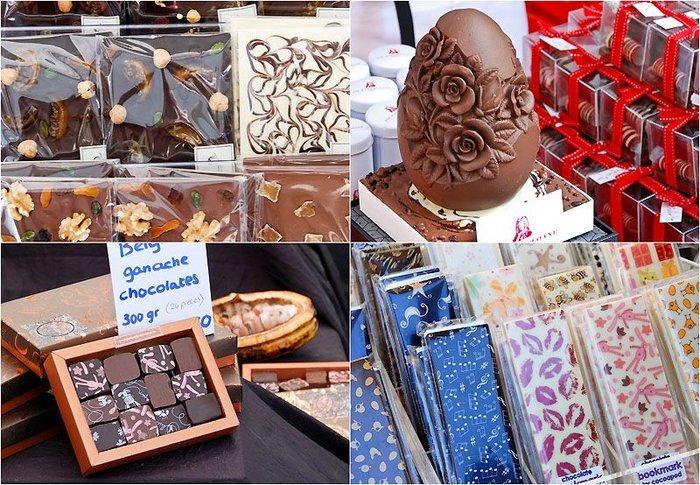 Фестиваль шоколада в Лондоне (27 фото + текст)