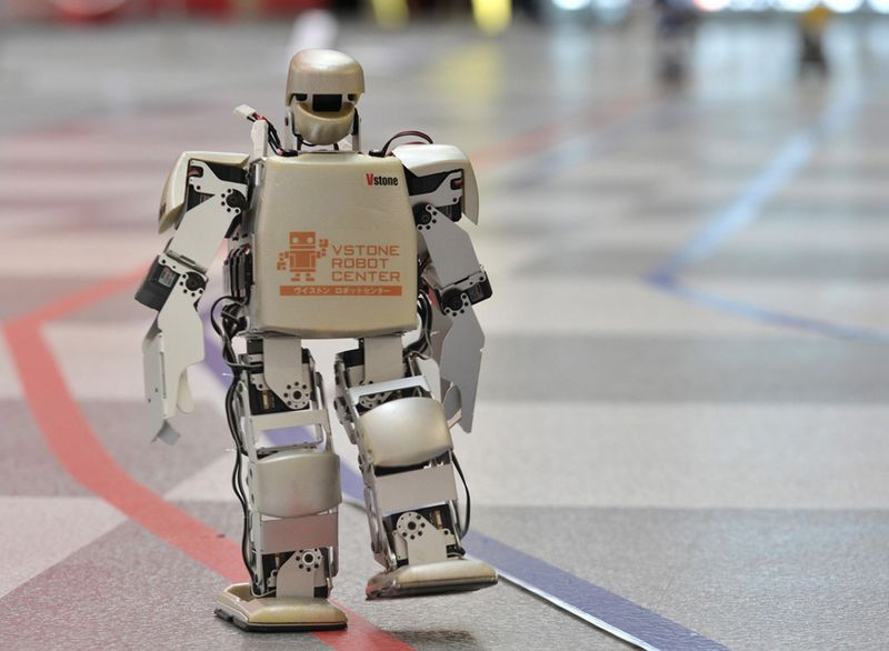 Роботы за работой и на отдыхе (33 фото + текст)