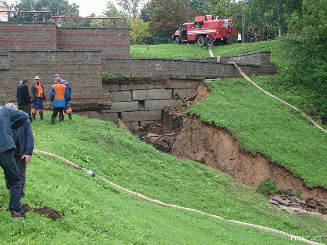 Наводнение в Витебске (3 фото)